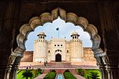 Alamgiri Gate, Lahore Fort, Lahore, Pakistan - Stock Image - D7480T
