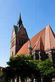 Marktkirche Hannover, Germany - Stock Image - E744KK