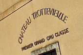 the winery chateau trottevieille saint emilion bordeaux france - Stock Image - BEAW2C