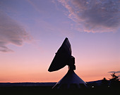 Germany,Baveria,Satellite Station at Raisting - Stock Image - AN1PRF