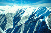 Mount Del Caucasian mountains Georgia - Stock Image - AMGY1D