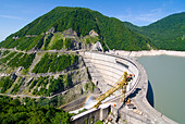 Inguri Dam between Georgia and Abkhazia, Middle East - Stock Image - CRAX4H