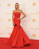 Los Angeles, California, USA. 25th Aug, 2014. Giuliana Rancic attending the 66th Annual Primetime Emmy Awards -Arrivals held at the Nokia Theatre in Los Angeles, California on August 25, 2014. 2014 © D. Long/Globe Photos/ZUMA Wire/Alamy Live News - Stock Image - E6K1JE