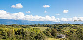 View of Caucasus mountains, Abkhazia - Stock Image - EA3AH0