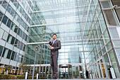 Portrait of a businessman - Stock Image - EG34JJ