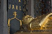 Sweden, Stockholm, Stadshuset, Tomb of Birger Jarl - Stock Image - AAPWB1