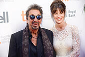 Toronto, Ontario, Canada. 3rd Sep, 2014. Actor AL PACINO and LUCILA SOLA attend the 3rd Annual TIFF Gala during the 2014 Toronto International Film Festival at TIFF Bell Lightbox on September 3, 2014 in Toronto, Canada. © Igor Vidyashev/ZUMA Wire/Alamy Live News - Stock Image - E71T93