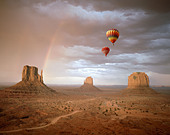 USA - ARIZONA: Monument Valley Navajo Tribal Park - Stock Image - ARX922