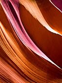 Smooth Canyon Walls - Stock Image - CFFPEP