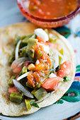Open Taco - Stock Image - BJMA01