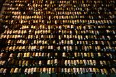 Herat, Afghanistan. 13th July, 2015. Afghan men pray at a mosque during the holy month of Ramadan in Herat province, western Afghanistan, July 13, 2015. © Sardar/Xinhua/Alamy Live News - Stock Image - EXG3FX