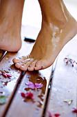 spa treatment - Stock Image - C46D5E