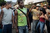 Santiago carnival. Santiago de Cuba. Cuba. - Stock Image - DEMMP9