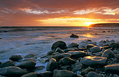 Seaton bay - Stock Image - B8C5AE