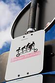 """Bremer Stadtweg"" sign, Bremen, Germany. - Stock Image - E6RARP"