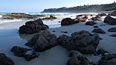 Dune Rocks, Point Lookout, North Stradbroke Island, Australia - Stock Image - B79B6R