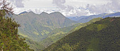 Views from the Yanacocha reserve near Quito, Ecuador. - Stock Image - BFJ5GJ