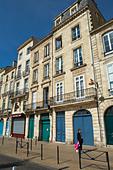 quai des chartrons bordeaux france - Stock Image - C0TE0W