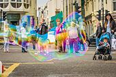 Bubbles in Brighton - Stock Image - EW9KN3