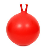 Red space hopper - Stock Image - A8DRMT