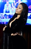 epa04367063 US singer Nicki Minaj poses in the pressroom for the 31st MTV Video Music Awards at The Forum in Inglewood, California, USA, 24 August 2014.  EPA/MIKE NELSON - Stock Image - E6NEAJ