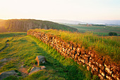England, Northumbria, Hadrian's Wall, Views near Housesteads Roman Fort - Stock Image - CP5P9G