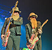 London, UK. 24th June, 2015. ZZ Top..ZZ TOP performing at the SSE Arena Wembley at their only UK performance. © charlie bryan/Alamy Live News - Stock Image - EWERA9