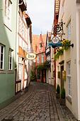 Schnoor Quarter, Bremen, Germany - Stock Image - E6RATP