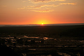 Sunrise in Olifants River Krueger Nationalpark - Stock Image - AHBG05