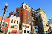 Gay Street, Knoxville, Tennessee, United States of America, North America - Stock Image - D6JG48