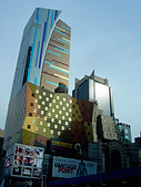 Westin Hotel in Times Square New York City USA - Stock Image - AT6AKM