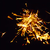 sparklers on Guy Fawkes Night - Stock Image - AXTJ9D