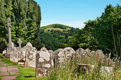 St Issui Church, Patricio, near Crickhowell, Wales. - Stock Image - BNH7FK