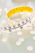 Diet pills, conceptual image. - Stock Image - C962JY