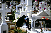 Cemetery in Greece - Stock Image - A59E2B