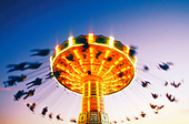 Sweden Stockholm Merry go round Action Activity Amusement Amusement park Amusement parks Carousel Chair Emotion Exciting Fair - Stock Image - BNHJHE