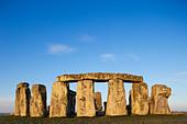 England, Wiltshire, Stonehenge - Stock Image - CPFBN1