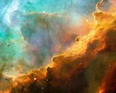 Stars in the Swan Nebula - Stock Image - D0P037