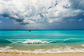 Barbuda Leeward Islands Eastern Caribbean - Stock Image - BARK0T
