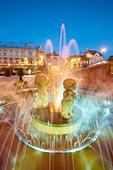 Bielsko-Biala, Silesia region, Poland, Europe - Stock Image - CTX39B
