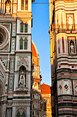 Evening at the Duomo in Florence Tuscany Italy - Stock Image - BE5J0X