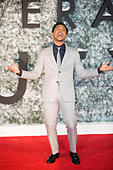 Leicester Square, London, UK. 15th Dec, 2016. Jacob Latimore attends the European Premiere of Collateral Beauty. © Chris Yates/ Alamy Live News - Stock Image - HE01XP
