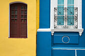 colonial architecture in the Old Town, Salvador da Bahia, Brazil - Stock Image - F347CW