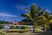Eglise de Cap Malheureux Mauritius Africa - Stock Image - B7FY9T