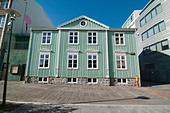 Architecture in Reykjavik, Iceland - Stock Image - D48BAX