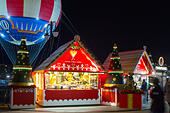 Disney Village at Christmas - Stock Image - HED4GC