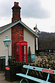 Grosmont Station North Yorkshire Moors Railway - Stock Image - BJY7XP