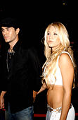 K32610AR.AFTER PARTY FOR .''ONCE UPON A TIME IN MEXICO''..GAUSTIVINO'S, NEW YORK New York..     /    2003.ENRIQUE IGLESIAS AND ANNA KOURNIKOVA(Credit Image: © Andrea Renault/Globe Photos/ZUMAPRESS.com) - Stock Image - CDC49F