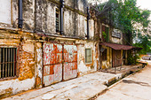 Old godowns in Singapore - Stock Image - D58DN1