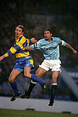 Soccer - FA Cup - 3rd Round - Manchester City v Reading - Maine Road - Stock Image - GAB978